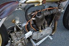 Motor de Mortorcycle antiguo imagenes de archivo