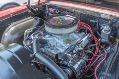 Motor de Oldsmobile 442 Imagen de archivo
