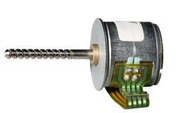 Motor de pasos. Fotografía de archivo