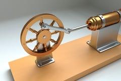Motor de Steampunk imágenes de archivo libres de regalías