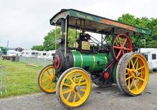 Motor de tracción del vapor Fotografía de archivo libre de regalías