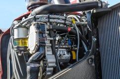 Motor de trator Fotografia de Stock Royalty Free
