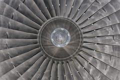 Motor de turbina de Jet Airplane Imagens de Stock