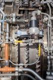 Motor de turborreactor Fotos de archivo libres de regalías