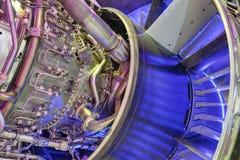 Motor de turborreactor imágenes de archivo libres de regalías