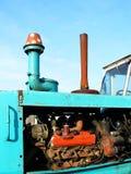 Motor de um trator Fotos de Stock Royalty Free