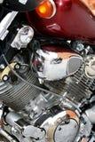 Motor de uma motocicleta Fotos de Stock