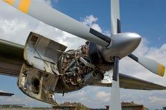 Motor de un atlantique del breguet Foto de archivo