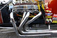 Motor de un T-Compartimiento Fotografía de archivo libre de regalías