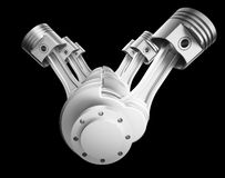 Motor de V8 libre illustration