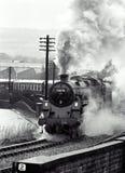 Motor de vapor Imagen de archivo libre de regalías