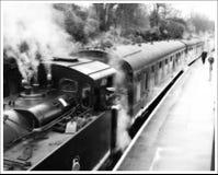 Motor de vapor fotografia de stock