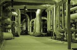 Motor de vapor Fotografía de archivo libre de regalías