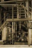 Motor de vapor Foto de archivo libre de regalías