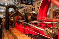 Motor de vapor de Corliss Museo de ciencia, Londres, Reino Unido Imagen de archivo libre de regalías