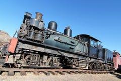 Motor de vapor de la vendimia fotografía de archivo