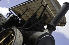 Motor de vapor de la vendimia foto de archivo