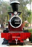 Motor de vapor del carril Foto de archivo libre de regalías