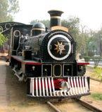Motor de vapor del carril Foto de archivo