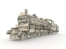 Motor de vapor del dólar Imágenes de archivo libres de regalías