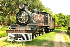 Motor de vapor del vintage Fotos de archivo libres de regalías