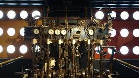 Motor de vapor 1928 do laboratório Fotografia de Stock