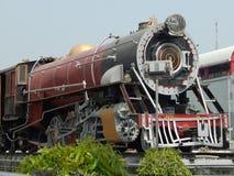 Motor de vapor locomotivo britânico histórico fotos de stock royalty free