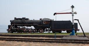 Motor de vapor velho Fotos de Stock Royalty Free