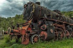 Motor de vapor viejo foto de archivo