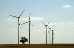 Motor de viento Imagen de archivo libre de regalías