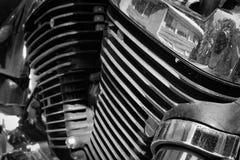 Motor de Vtwin foto de stock