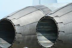 Motor del aeroplano fotografía de archivo libre de regalías