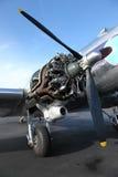 Motor del aeroplano Foto de archivo