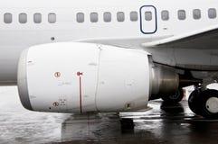 Motor del aeroplano Imágenes de archivo libres de regalías