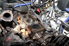 Motor del alto rendimiento. Fotografía de archivo
