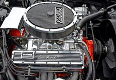 Motor del alto rendimiento Fotografía de archivo libre de regalías