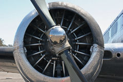 Motor del apoyo Fotografía de archivo