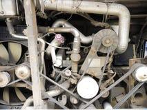 Motor del autobús Imágenes de archivo libres de regalías