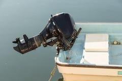 Motor del barco fotografía de archivo libre de regalías