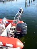 Motor del barco de motor Imágenes de archivo libres de regalías