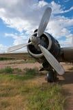 Motor del bombardero de la Segunda Guerra Mundial Fotos de archivo libres de regalías