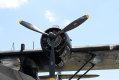 Motor del bombardero WW2 Imagenes de archivo