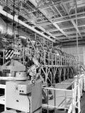 Motor del buque fotografía de archivo libre de regalías