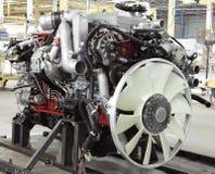 Motor del camión fotos de archivo