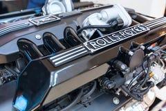 Motor del cierre de Rolls Royce para arriba Fotos de archivo libres de regalías