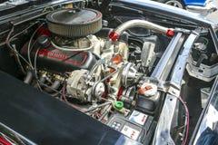 Motor del coche de la obra clásica de Chevrolet Foto de archivo