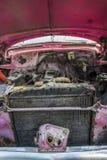 Motor del coche del vintage fotografía de archivo