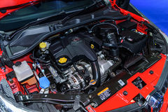 Motor del coche MG5 Imagen de archivo libre de regalías