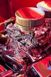 Motor del cromo fotografía de archivo libre de regalías