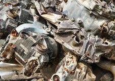 Motor del daño Fotografía de archivo libre de regalías